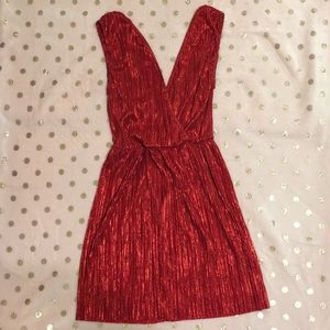 OML, Sparkly Red Dress! Worn Once!